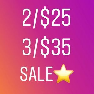 Other - 👀 for the ⭐️items - 2 for $25 or 3 for $35